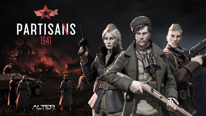 SteamのゲームタイトルPartisans1941のアイキャッチ画像