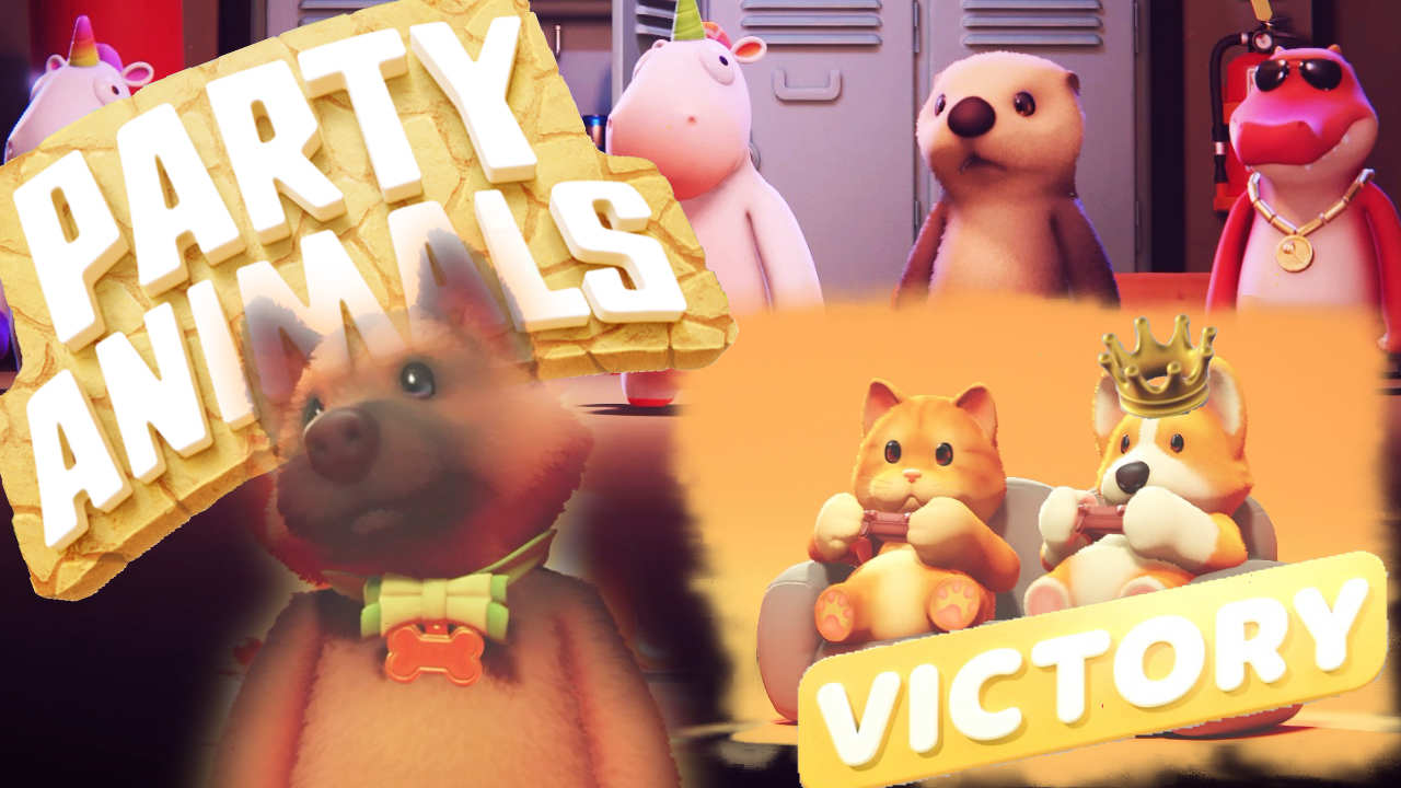 ふにゃふにゃぶん殴りバトロワ 「Party Animals」パーティーアニマルズ