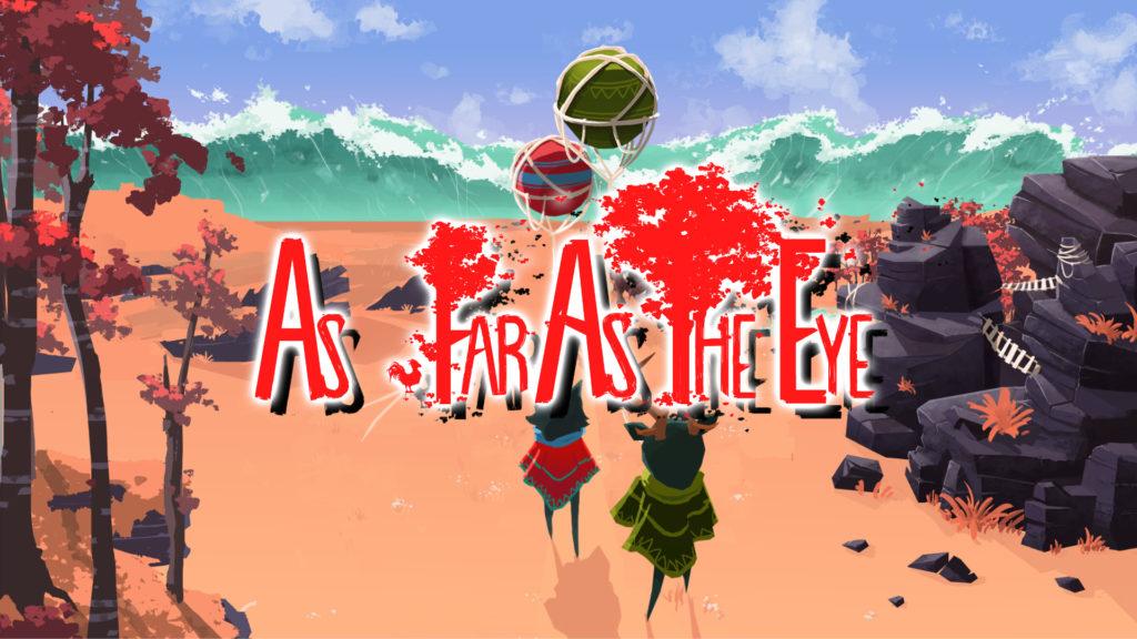SteamのゲームタイトルAs for as the eyeのアイキャッチ画像