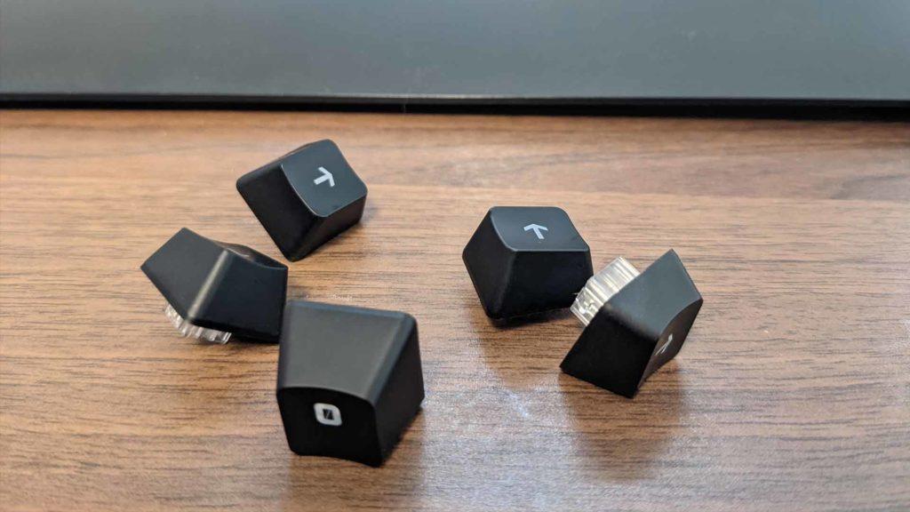 ロジクールゲーミングキーボードG213のキーの画像