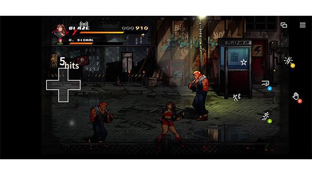 XboxCloudGameのタッチコントローラーの画像1