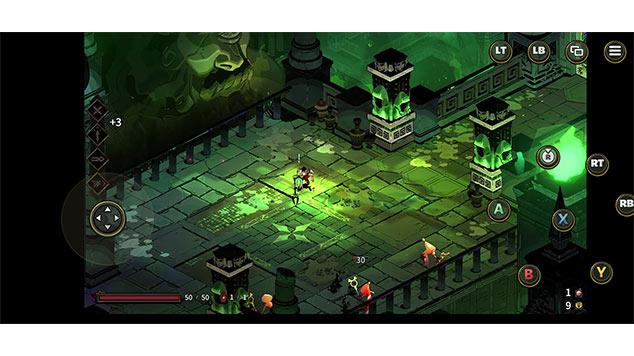 XboxCloudGameのタッチコントローラーの画像2