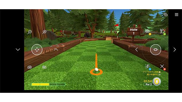 XboxCloudGameのタッチコントローラーの画像3