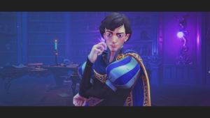 Trine4:The Nightmare Princeのセリウス王子の顔画像
