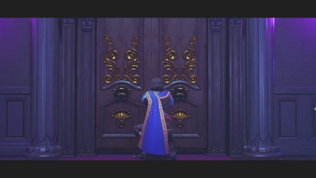 Trine4:The Nightmare Princeの魔法部屋に忍び込むセリウス王子